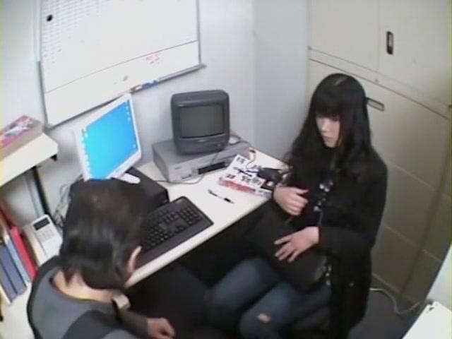 La salope japonaise du bureau